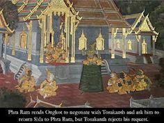 Heritage of India: The Ramakien - Thailand Ramayana Kalamkari Painting, Madhubani Painting, Manipuri Dance, Ramayana Story, Sanchi Stupa, Rath Yatra, Ajanta Caves, Bodh Gaya, Kerala Mural Painting