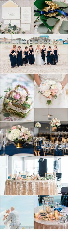 Sea Isle Wedding Florist : A Garden Party - Yacht Club of Sea Isle City - Schon Photography - beach wedding - blush wedding