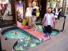 3D Illusions Street Art 4