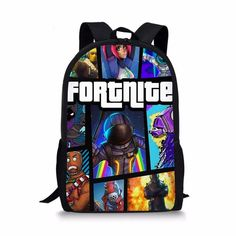 Fortnite Backpack School Bags Graphic Pattern Backpacks For Teen Boys, Girl  Backpacks, School Backpacks 22ddb4081b