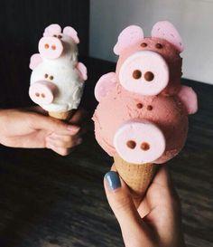 #мороженое #свинки #вкуснонаверное