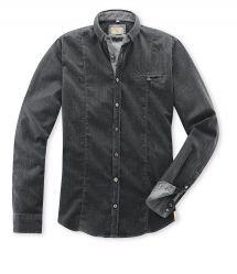 Hemd Sandro Demin-Stretch in Grau in Comfort Stretch Denim Button Up, Button Up Shirts, Sandro, Shirt Dress, Mens Tops, Shopping, Dresses, Fashion, Fall Winter