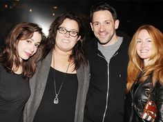 Rosie O'Donnell visits Steve Kazee and Cristin Milioti at ONCE