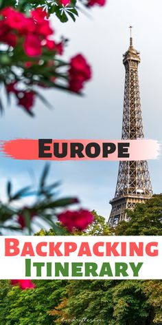 Getting ready to travel through Europe? The ultimate itinerary for backpacking Europe is right here. Check this out for the best 6 weeks in Europe. #Backpacking #BackpackEurope #TravelEurope #Adventure #Adventures #Europe