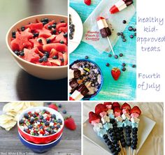 Healthy Fourth of July Fare {Kid-Approved}