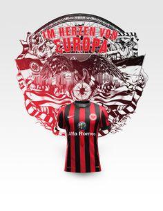 Eintracht Frankfurt / Nike Soccer / ILOVEDUST Design Studio