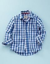 gingham on little boys is so handsome
