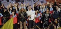 The Secret Meaning Behind Coldplay, Bruno Mars and Beyoncé's Halftime Performance
