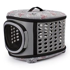 Stock Show 1Pc Fashion Portable Folding EVA Pet Carrier Tote Bag, Outdoor Traveling Handbag Shoulder Bag Pouch Travel Kennel House for Dog/Puppy/Cat/Kitty/Rabit, Champagne *** See this great product. (This is an affiliate link and I receive a commission for the sales) #PetCats