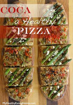 Coca; a Healthy Pizza