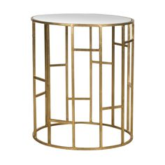 Golden Mean Side Table -- art deco goodness