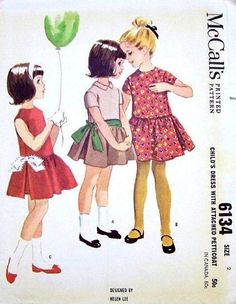 McCall's 6134 by Helen Lee © 1961.
