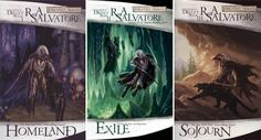The Dark Elf Trilogy by R.A. Salvatore  -  Although The Dark Elf Trilogy was originally written as a prequel trilogy to another series, the popularity of the protagonist, a dark elf named Drizzt Do'Urden, has made this the stand-out series among all the D&D books out there. If you're a fan of the world of Dungeons & Dragons, or just need a fix between play sessions, look no further.