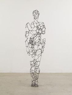 WOW! Amazing geometric art by Antony Gormley