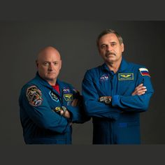 One Year Crew   March 27, 2015, NASA astronaut Scott Kelly and Russian Cosmonaut Mikhail Kornienko launched to the International Space Station, beginning a one-year mission in space.