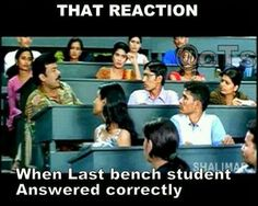 Last   Bench Student Answered Correctly