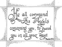 Take courage, you are in good hands, everything will be all right...... #calligraphybyangela www.calligraphybyangela.com