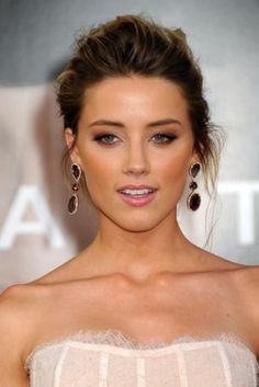 amber heard bridal hair and makeup brides of adelaide magazine - - amber heard bridal hair and makeup brides of adelaide magazine Bridal Hair And Makeup, Wedding Makeup, Hair Makeup, Make Up Braut, Braut Make-up, Bridesmaid Hair, Most Beautiful Women, Pretty Face, Hair Inspiration