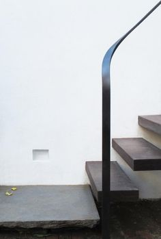 detail floating tread handrail steel