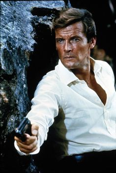 "Roger Moore did 7 Bond Movies . He always had a ""one liner "" with something funny to say . That's what Bond is all about ....fun to watch ."