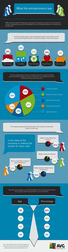 What Entrepreneurs say about startup life, the economy, etc.