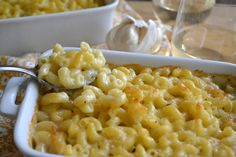 Grown Up Fondue Macaroni and Cheese by theviewfromthegreatisland: Made with Gruyere, Emmentaler and white wine! #Mac_Cheese #Fondue