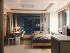 다양한 손재주를 가진 포토그래퍼의 9평 원룸 Bed Aesthetic, Dream House Interior, Small Room Interior, Small Room Bedroom, Bedroom Decor, Dream Apartment, Cozy Room, Minimalist Bedroom, Dream Rooms