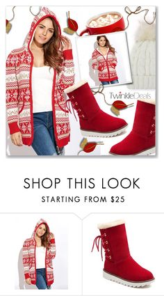 """""""Cozy and Warm with TwinkleDeals.com"""" by dressedbyrose ❤ liked on Polyvore"""