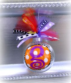 Christmas ornament- super fun and cute