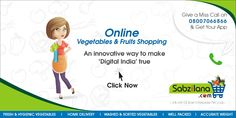 Go Digital !!   goo.gl/LVGhmK  7304040040  We Are Delivering Our Fresh Veggies From 9am To 7pm smile emoticon  ‪#‎OnlineShopping‬ ‪#‎Vegetables‬ ‪#‎Fruits‬ ‪#‎Nagpur‬ ‪#‎DigitalIndia‬