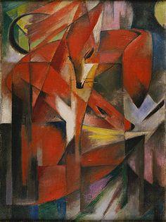 Franz Marc: Füchse. 1913
