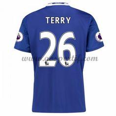 maillot de foot Premier League Chelsea 2016-17 Terry 26 maillot domicile