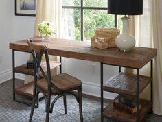 diy deco rangement avec bureau en bois