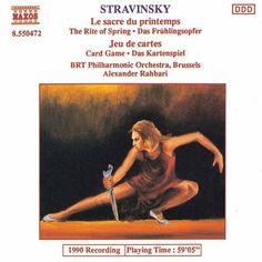 Stravinsky: The Rite of Spring / Jeu de Cartes - Naxos CD. £6.95