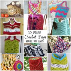 Beach Bags and Market Totes Galore 12 FREE Crochet Patterns I love a good beach bag or market tote, or better yet one that can be used as both.  I  have compiled a list of some of the best bags I have found.  Enjoy!    This post contains affiliate links I love both of these [...]