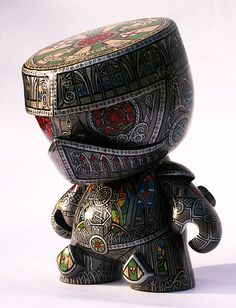 "'The Once and Future King' Custom 7"" Munny by Hugh Rose"