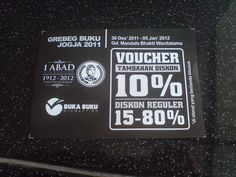 Discount Voucher for books