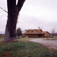 Cape Style | Real Log Homes