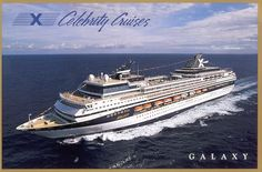 Celebrity Cruise Ship Galaxy  Cruise the Inside Passage to Alaska