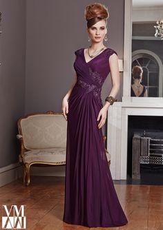 Bolero Evening Dress From VM By Mori Lee Dress Style 71003 Stretch Mesh/Lace