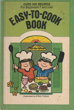 Easy to Cook Book 1972 Vintage Cookbook for Children Stan Tusan and Ann Wainwright by BirdhouseBooks on Etsy Vintage Cookbooks, Vintage Children's Books, Son Of Neptune, Sea Of Monsters, Percy Jackson Quotes, Barnyard Animals, Little Golden Books, Big Bird, Field Guide