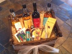 Custom Wedding Gift Basket