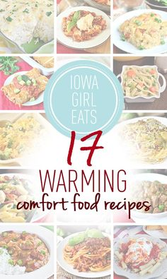 17 of my all-time favorite, warming comfort food recipes to savor and indulge in when the outside temperatures drop.
