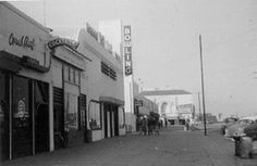 Fox Movie theater at end of block, Redondo Beach, Redondo Beach Pier, Redondo Beach California, California History, Southern California, Fun Places To Go, Hermosa Beach, Los Angeles County, History Photos, Movie Theater