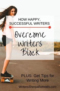 How Successful Writers Overcome Writers Block Book Writing Tips, Writing Skills, Writing Resources, Blog Writing, Writing Problems, Creative Writing Ideas, Becoming A Writer, Fiction Writing, Writing Practice