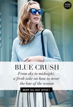 New Year, New HUE - BLUE CRUSH (from 01.15.15 Piperlime email)