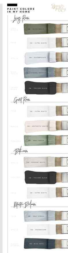 Predicted Paint Colors for 2018 - roomfortuesday.com // this color palette