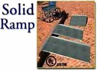 Aluminum Solid Wheelchair Ramp