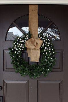 Possibly the prettiest wreath ever.
