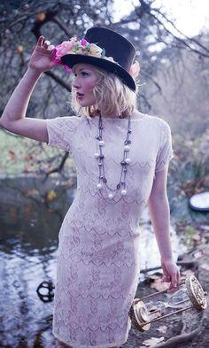 Shabby Apple's Mad Hatter 20s Inspired Dress